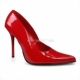 Supersexy Pumps aus rotem Lackleder
